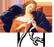 Marie qui défait les nœuds